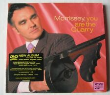 MORRISSEY - YOU ARE THE QUARRY - CD Edt DIGIPACK BONUS DVD