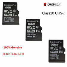 8GB/16GB/32GB Kingston MicroSD SDHC TF C4/C10 Memory Card Memoria f Phone Tablet
