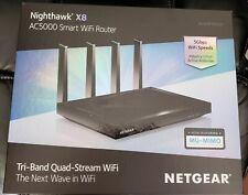 Nighthawk X8 AC5000 R8300 Smart WiFi Router
