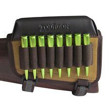 Tourbon Left Hand Rifle Ammo Holder Bullets Carrier Cheek Rest Pad Buttstock Gun