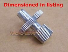 CHROME CLUTCH CABLE ADJUSTER UNIVERSAL REPLACEMENT M8 * 1.25