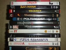 lotto dvd e blu ray film horror - in omaggio poster Lucio Fulci