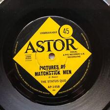 "STATUS QUO PICTURES OF MATCHSTICK MEN(AUS) 7"" 1968 WITH GENTLEMAN JOE'S.. Lots o"