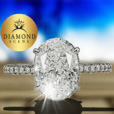 Clarity Set Center Round Diamond Halo Adorable Gia Oval Shape D Color Si1