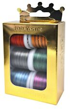 Madeira Anniversary Crown Box Polyneon 40 Multicolor Embroidery Thread