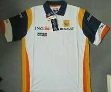 Renault F1 Official Mens Replica Team Wear Polo Shirt BNWT ING ELF LARGE