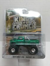 Greenlight 1:64 Kings of Crunch R4 1974 FORD F-250 F250 BIGFOOT #1 Green Machine
