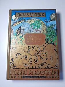 CINQUE SETTIMANE IN PALLONE Jules Verne Libro 5 Mursia Collana Hetzel Viaggi