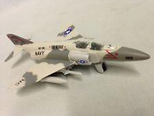 "7"" F-4 Phantom Diecast US Navy Model Fighter Jet Airplane Toy Licensed Grey"