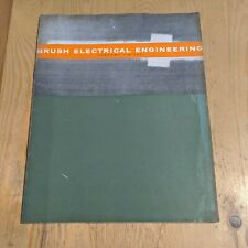 More details for vintage brush electrical engineering loughborough hawker siddeley limited  book