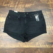 NWT American Rag Cie Black Cuffed size 9 Women's Denim Jean Shorts