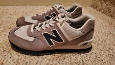 New Balance 574 Core Plus Men's Shoes Grey/Blue/White ML574ESD Size 8.5 NICE!