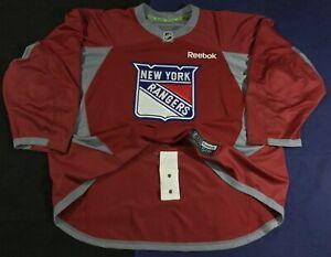 New York Rangers Hockey NHL Reebok Jersey Size58