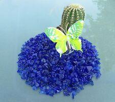 "Seedeco® Glassteine Glaskies 10kg ""Made in Germany"" Blau Violett  601-10"