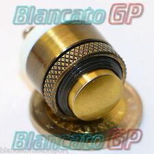PULSANTE 16mm PER CAMPANELLO IN OTTONE metallo design retro vintage pulsantiera
