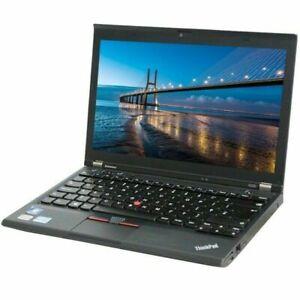 """Ordinateur portable Lenovo X230 12,5 """"Quad i5 3230M 2,5 GHz RAM 8 Go SSD..."""