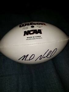 MIKE NORVELL Signed/Autographed Football FLORIDA STATE head coach  NEW