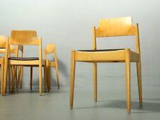 Egon Eiermann für Wilde + Spieth, Stuhl SE119, Stuhl, Chair Leder SE 119 Vintage