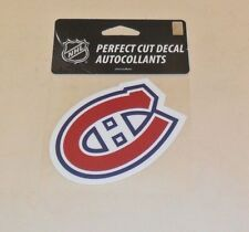 MONTREAL CANADIENS 4 X 4 DIE-CUT DECAL OFFICIALLY LICENSED PRODUCT