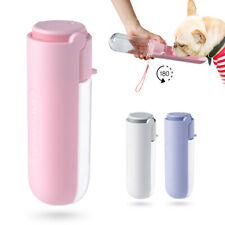 Cat Dog Travel Water Bottle Portable Drinking Dispenser Cup Bowl Leakage Proof