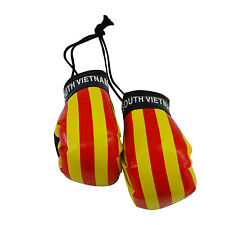 SOUTH VIETNAM COUNTRY FLAG MINI BOXING GLOVES .. NEW