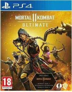 Mortal Kombat 11: Ultimate *no disc* download (PS4)  ***SALE***