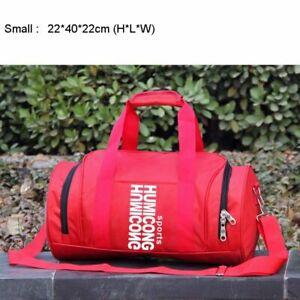 Outdoor Cylindrical Sports Gym Bag For Women Men Fitness Taekwondo Training Bags