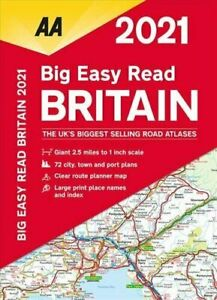 Big Easy Read Britain 2021: Giant 2.5 miles to 1 inch scale #shf
