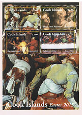 Cook Islands 2015 Easter Postage Stamp Souvenir Sheet Issue