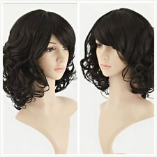 Fashion Women Short Curly Wave Healthy Hair Cosplay Party Costume Halloween Wigs