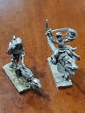 (2×) Ral Partha Pewter Figures 1988