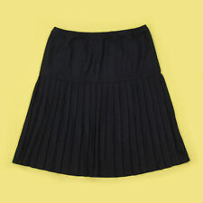 Unbranded Patternless Pleated, Kilt Casual Skirts for Women