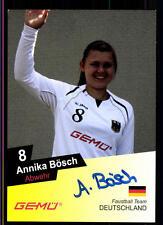 Annika Bösch Autogrammkarte Original Signiert Faustball + A 122323