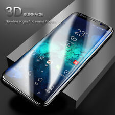 For Samsung Galaxy S8 S9 S10 Plus PET Soft Full Cover Front Back Protector Film
