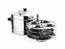 Stainless steel idli cooker 4 rack stand-Heavy duty cooking appliances