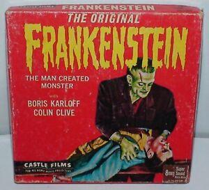 """The Original """"Frankenstein"""" Super 8mm Sound Castle Films 1061"""