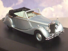 OXFORD 1/43 1948-1951 JAGUAR MKV MK5 OPEN DHC OPALESCENT SILVER BLUE 43JAG5001
