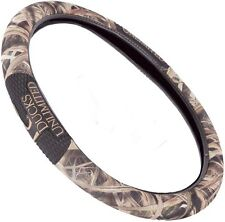 DUCKS UNLIMITED MOSSY OAK BLADES CAMOUFLAGE STEERING WHEEL COVER - CAMO 2-GRIP