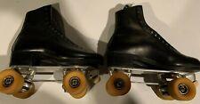 Snyder Super Deluxe Men's Roller Skates Size 9 Vintage with Hugger Wheels