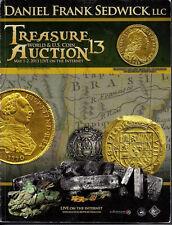 Daniel Frank Sedwick Treasure Auction #13 Shipwreck treasure coins and artifacts