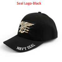 United States US Navy Seal Trident Seal Insignia Military Casquette De Baseball*