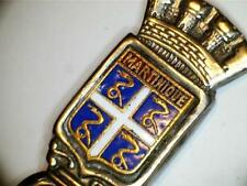 Vtg Martinique Collectible Souvenir Spoon