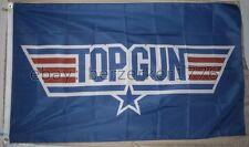 Top Gun Tom Cruise 1980's US Airforce 3'x5' Blue Flag Banner USA Seller Shipper