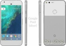 "Google Pixel 128GB Silver 4GB RAM 5.0"" 12MP Android Phone By FedEx"