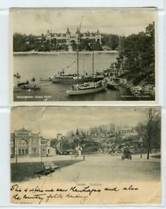 Sweden: Picture Post Cards x 8, 1900~30's