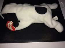 Ty Beanie Baby Spot The Dog 3rd/1st Generation Black and White Tush Tag! RARE!