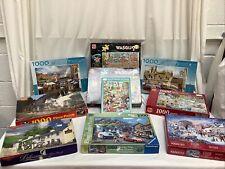 10 x 1000 pieces Jigsaw Puzzles Assortment Job Lot Bundle Unchecked - 6