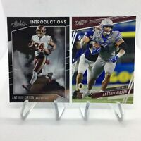 Antonio Gibson Rookie 2020 Absolute Introductions & 2020 Prestige RC Redskins
