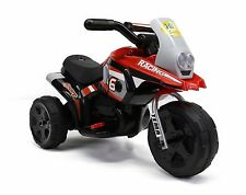 Motorcycle For Girls Electric Powered Wheels Battery, Red