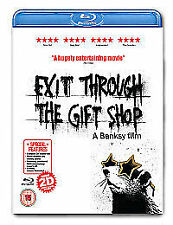 Exit Through The Gift Shop [Blu-ray] [Region Free] - Banksy (New & Sealed)